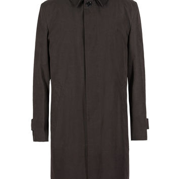 Leather Collar Trench Coat with Stormwear™ | M&S
