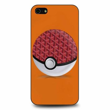 Goyard Pokeball 3 iPhone 5/5s/SE Case