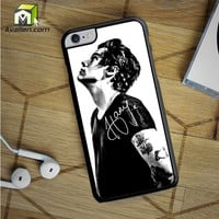 Harry Styles Black And White 2 iPhone 6S Plus Case by Avallen