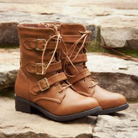 Knew You Were Trouble Camel Boots