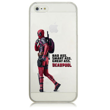 Deadpool Phone Case for iPhone 5 5S