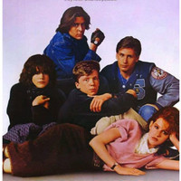 Vintage Classic Movie Poster THE BREAKFAST CLUB