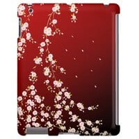 Elegant Weeping Cherry Blossoms iPad Case