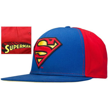 Superman - Shield Snap Back Cap = 1945856516