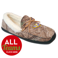 Men's Realtree® Camo Juneau Slipper Moccasins