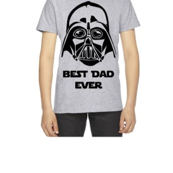 BEST DAD EVER STAR WARS - Youth T-shirt
