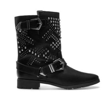 STUDDED BIKER ANKLE BOOT - Ankle boots - Shoes - Woman - ZARA United States