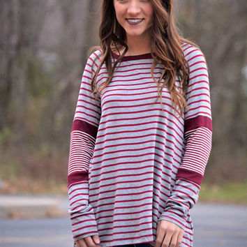 The Kylee Striped Top