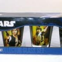 Star Wars 4 Shot Glasses - 2 Oz Glasses