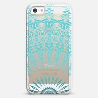MINT LACE Crystal Clear iPhone Case iPhone 5s case by Monika Strigel | Casetagram