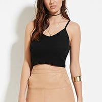 Sweater Cami Crop Top