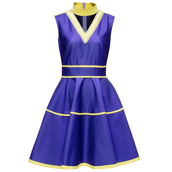 Dress With Yellow Decorating