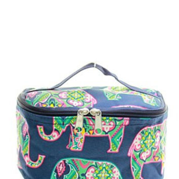 Elephant Small Cosmetic Bag