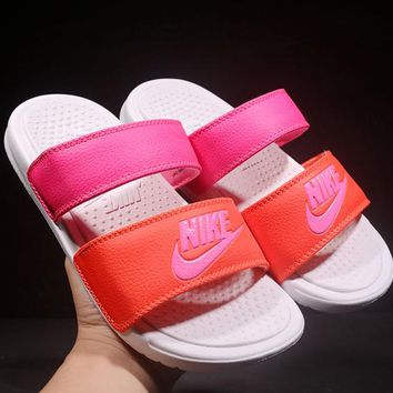 Nike Woman Men Fashion Slipper Sandals Shoes