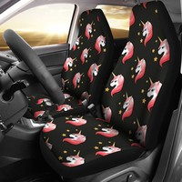 Unicorn Pattern Print Car Seat Covers-Free Shipping