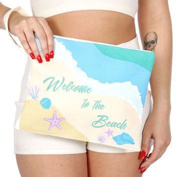 Welcome Water Proof Bikini Bag