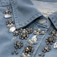 Hadley Shine Denim Shirt