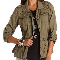 STUD POCKET ANORAK JACKET
