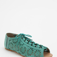 Ecote Pinwheel Cutout Lace-Up Sandal