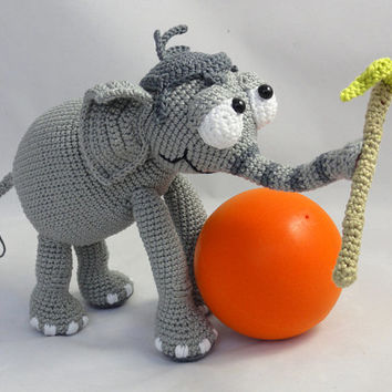 Jambo the Elephant - Amigurumi Crochet Pattern