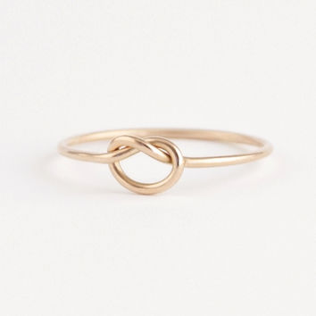 Knot Ring 14k Yellow Gold
