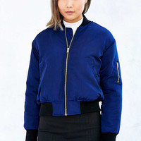 UNIF Nylon Bomber Jacket - Urban Outfitters