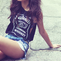 Jack Daniels Tank Top from ShopWunderlust