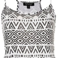 Aztec Crop Cami - New In This Week - New In - Topshop USA