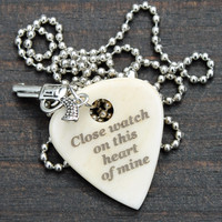 Heart Of Mine Pistol Necklace