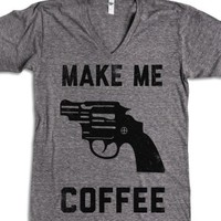 Athletic Grey T-Shirt | Cute Coffee Shirts