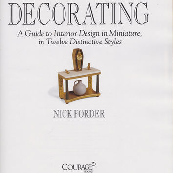 Book: Dollhouse Decorating - A Guide to Interior Design in Miniature
