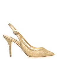 Bellucci lace pumps