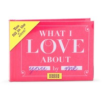 Fill in the Love® Journal - What I Love about You