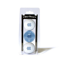 North Carolina Tar Heels NCAA 3 Ball Pack