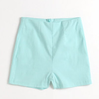 Kirra High Rise Mill Solid Shorts at PacSun.com