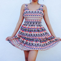 Jess Aztec Summer Dress