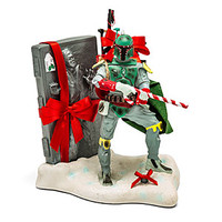 Star Wars Boba Fett with Han Solo Carbonite Statue