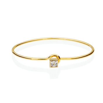 Royalty Cystal Diamond Bangle