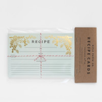 Golden Garden Recipe Cards by RIFLE PAPER Co. | Made in USA