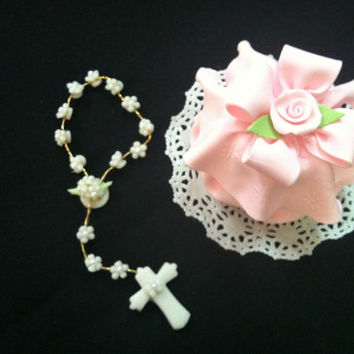 First Communion Favor, Communion Favor, Baptism Favors, Girl First Communion , Favor Box For Rosary, First Communion Girl, Rosaries Favor