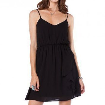 Vera Dress in Black - ShopSosie.com