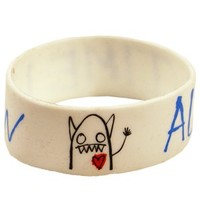 All Time Low Monster Rubber Wristband - Offical Band Merch - Buy Online at Grindstore.com