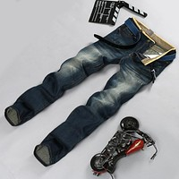 Hot Sale Fashion Summer Men Casual Jeans Men's Brand Clothing Casual Denim Jeans Slim Fit men Denim Pant