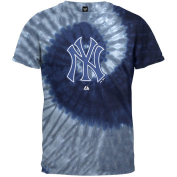 New York Yankees - Logo Spiral Tie Dye T-Shirt