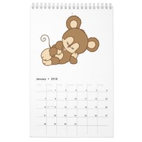 Childrens Custom Printed Calendar