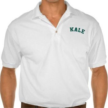 Kale Funny Vegan Shirt Polo