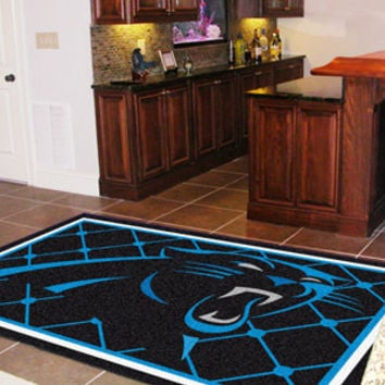 Carolina Panthers 5x8 Rug