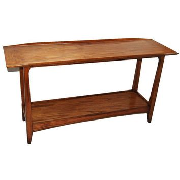 Pre-owned Mid-Century Modern Danish Style Console Table