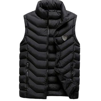Emporio Armani Fashion Down Vest Cardigan Jacket Coat-1