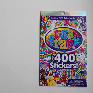 Lisa Frank Stickers over 400 sticker rare collector book 90s